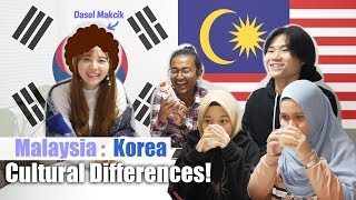 What if you invited Malaysian vs. Korean friend's house! | Cultural Differences