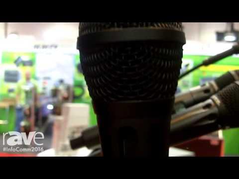 InfoComm 2016: Earthworks Audio Demos SR20 Handheld Performance Microphone