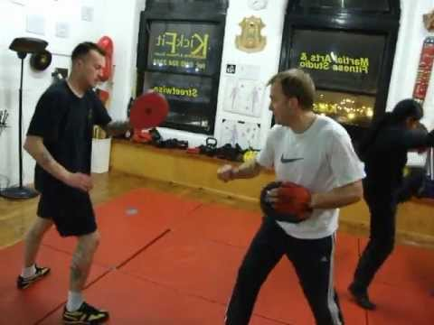 Cresent Kicking Drill JEET KUNE DO class, Kickfit Martial Arts Academy Nottingham,UK Image 1