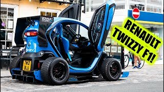 Renault Twizy F1 HITS THE STREETS! (Oakley Design)