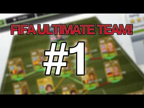 FIFA 13 - Ultimate team Livestream #1