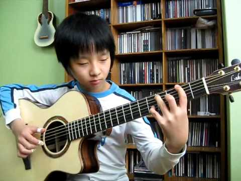 (the Eagles) Hotel California -  Sungha Jung (2009.2.16) video