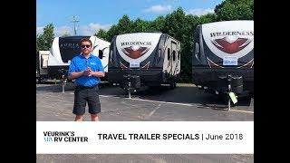 Veurink's RV Center Travel Trailer Specials  | June 2018