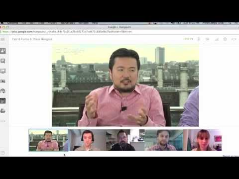 Fast & Furious 6 Google+ Hangout With Justin Lin And Luke Evans