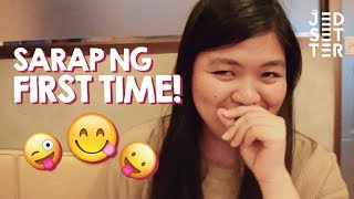 FILIPINOS TRY FALAFEL FOR THE FIRST TIME | Vlog 19