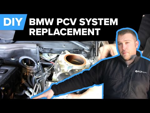 BMW PCV Replacement (Breather System. Throttle Body. Idle Control Valve. Dip Stick) FCP Euro