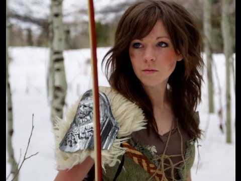 Skyrim - Lindsey Stirling & Peter Hollens Music Videos