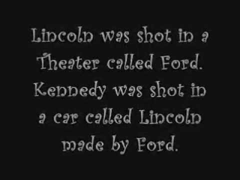lincoln and kennedy assassination similarities What are some similarities between lincoln and kennedy assassination president lincoln was elected in 1860, kennedy in 1960  both were deeply involved in the issue of civil rights for african .
