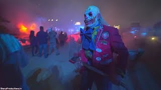 Terror Tram (Full Walkthrough) at Halloween Horror Nights at Universal Studios Hollywood