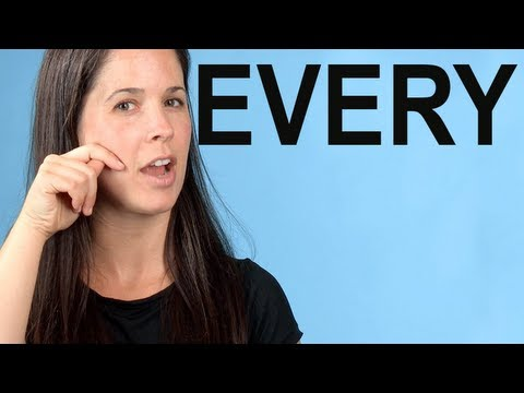 How to Pronounce EVERY — American English