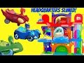 PJ Masks Owlette Catboy Gekko's Headquarters Playset Gets Sli...