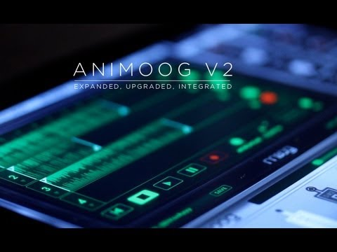 ANIMOOG V2: EXPANDED, UPGRADED, INTEGRATED