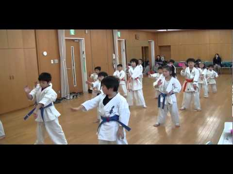 Tanaka Karate Club Kyokushin Basic Training boys&girls Image 1