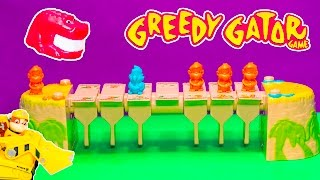 Playing the Greedy Gator Game with Paw Patrol and Miles from Tomorrowland