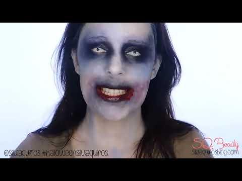 Tutorial Maquillaje Zombie fácil de hacer | Silvia Quiros