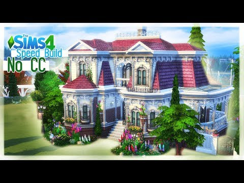 KAMIENICA | Dworek |The Sims 4 SPEED BUILD - BEZ MODÓW - ONLY GAME, NO CC