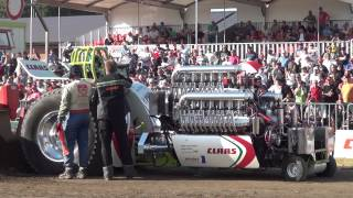 Green Fighter final run 4,5t modified @ EC Tractor Pulling Füchtorf 2012 by MrJo