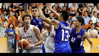 Highlights of Malaysia-Thailand SEA Games' basketball match