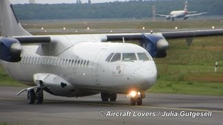 DOT LT ATR 72 [LY-MCA] Takeoff @ Berlin-Tegel 29.06.2013