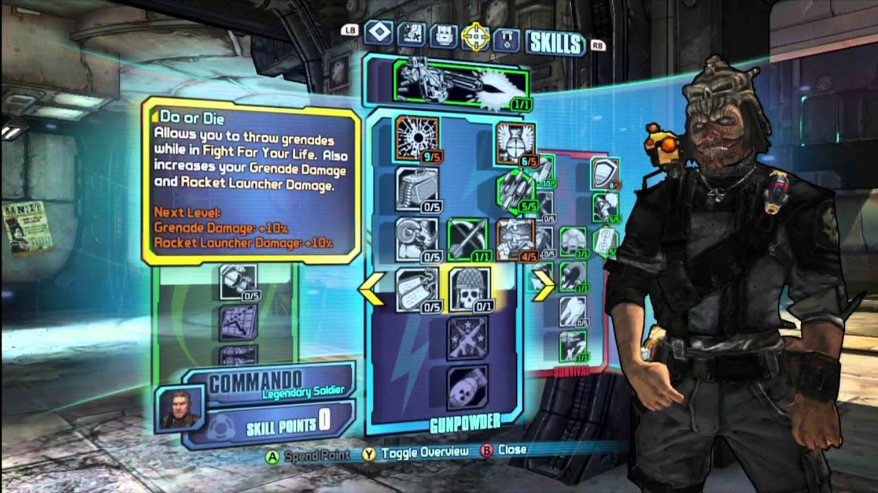 Borderlands  Commando Turret Build