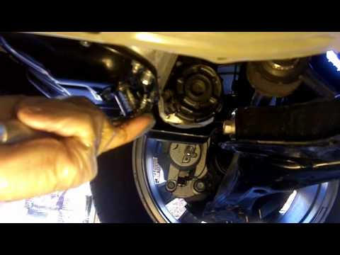 2010 Toyota Corolla type s 1.8 l oil  canister change How to