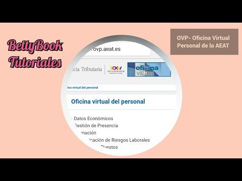 OVP- Oficina Virtual de Personal de la AEAT