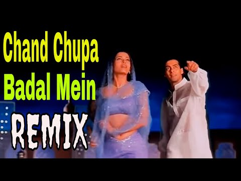 Chand Chupa Badal Mein Remix video