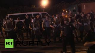 USA: Black Lives Matter picket Baton Rouge police HQ for three nights running