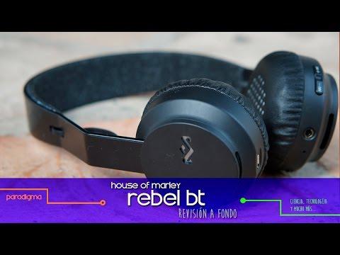 Revisión a fondo de los House Of Marley Rebel BT (Español)