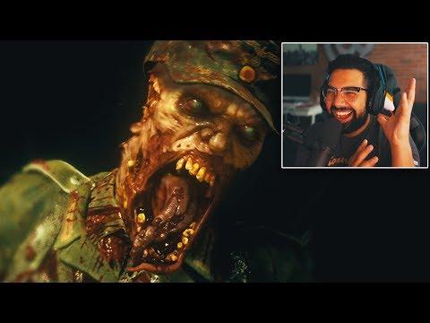 Call of Duty WW2 ZOMBIES TRAILER REACTION! (Breakdown)