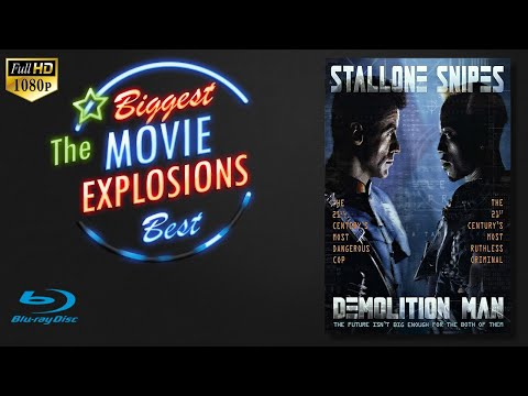 The Best Movie Explosions Demolition Man (1993) Phoenix's Hideout Blow Up