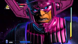 Marvel vs Capcom 3 Final Boss Fight Galactus (Amazing Gameplay)