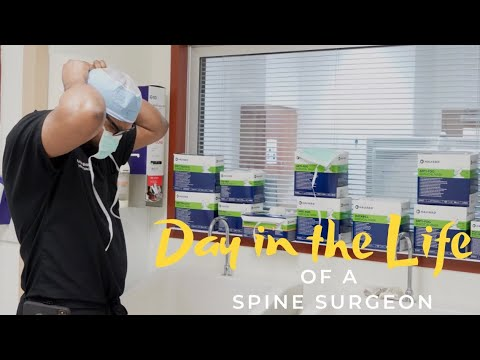 Day in the Life of a Spine Surgeon