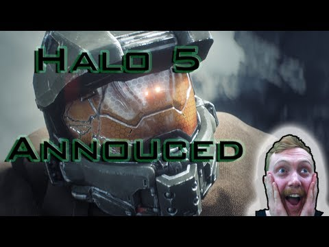 Halo 5 Announced - EXCITED - Halo 4 Gameplay Getting Good At it!