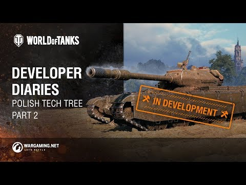 Developer Diaries: Polish Tech Tree. Part 2