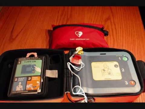 Philips FRx AED Demonstration with Voice Prompts.wmv