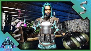 WE BROKE INTO THEIR BASE AND RAIDED FROM THE INSIDE! - Ark: Survival Evolved [PVP Cluster]