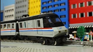 Lego City Train Crash