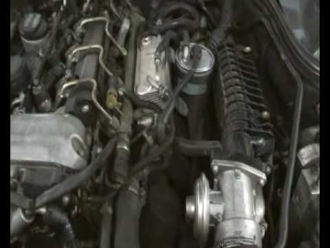 Motor Mercedes C220 Cdi Youtube