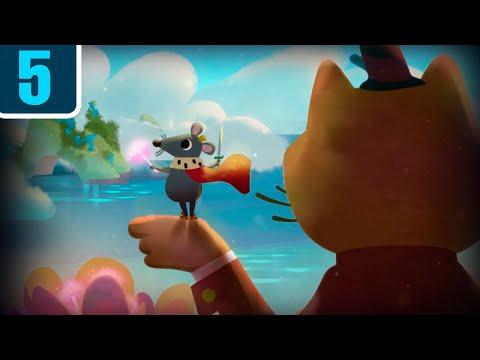 Волшебный фонарь - Гулливер в стране лилипутиков - мультики диафильмы детям - Серия 5