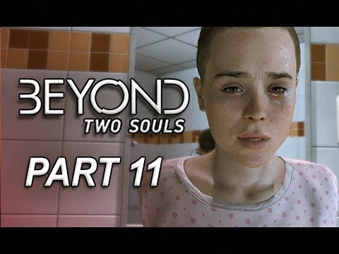 Beyond Two Souls Walkthrough Part 11 - Homeless Escape (Let's Play Gameplay Commentary)