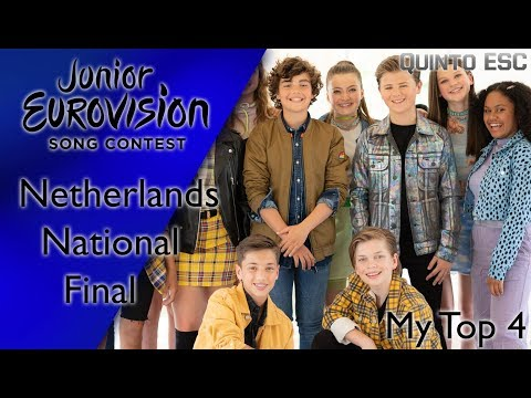Junior Eurovision 2019 - Netherlands National Final - My Top 4 With Comments - Quinto ESC