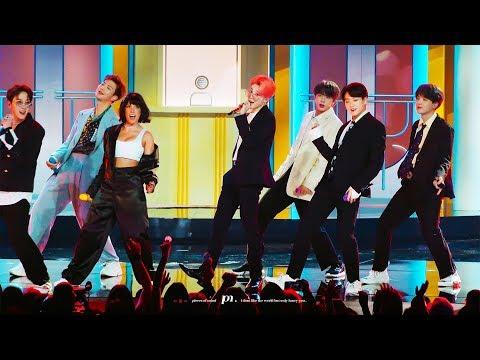 190501 작은 것들을 위한 시 (Boy With Luv) Feat. Halsey  BTS JIMIN FOCUS /방탄소년단 지민 직캠 (BBMAs)