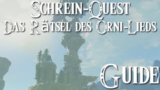 ZELDA: BREATH OF THE WILD - Schrein-Quest - Das Rätsel des Orni-Lieds / Vorida-No-Schrein Guide