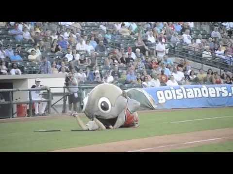 Fish Mascot Eats Worker (Original)