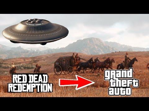 ¿Es Red Dead precuela de GTA? ¿Por qué San Andreas es una isla?   SQS