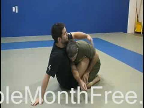 Baltimore Jiu Jitsu - BJJ Butterfly Guard Sweep Image 1