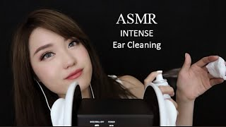ASMR 3DIO INTENSE EAR CLEANING ❤️ (Clay, Scissors, Massage)