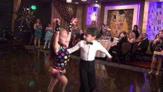 Kids Dancing Cha Cha Rumba Jive And Samba