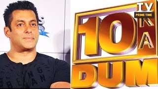 Salman Khan to return to TV with Dus Ka Dum | TV Prime Time